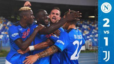 Serie A 2021/22 Napoli-Juventus 2-1