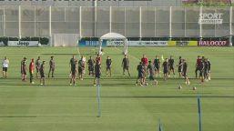 L'allenamento di Dybala alla Continassa