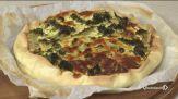 Torta broccoli e pecorino