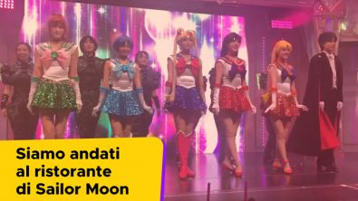 Siamo andati al ristorante di Sailor Moon a Tokyo