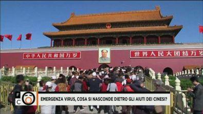Aiuti dalla Cina, è davvero solidarietà?