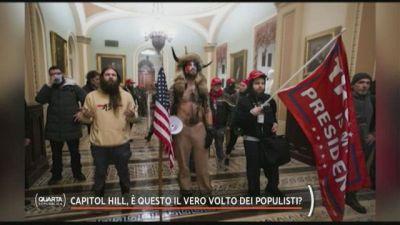 Capitol Hill, è questo il vero volto dei populisti?