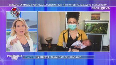 """Coronavirus, La mamma positiva: """"Ho partorito, ma avevo tanta paura"""""""