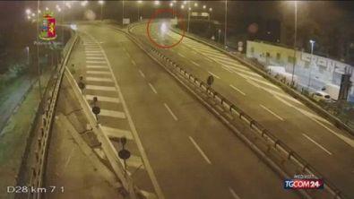 Roma, ragazza ubriaca va in contromano in autostrada