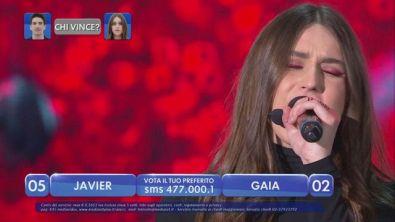 """Gaia canta """"Tu non mi basti mai"""" - La finalissima"""