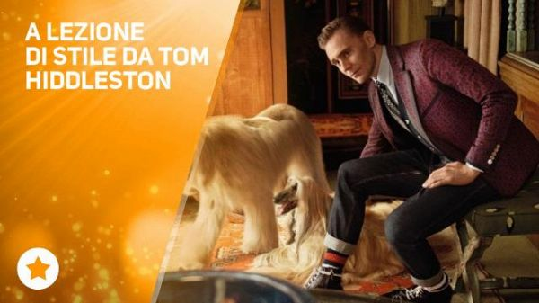 Tom Hiddleston va avanti...con stile