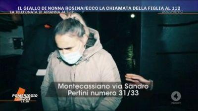 Il giallo di Nonna Rosina: ecco la chiamata della figlia al 112
