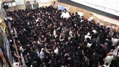 Israele, la festa prima del disastro sul monte Meron