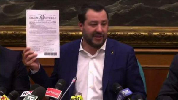 Pensioni, Salvini: intervento con governo compatto e determinato