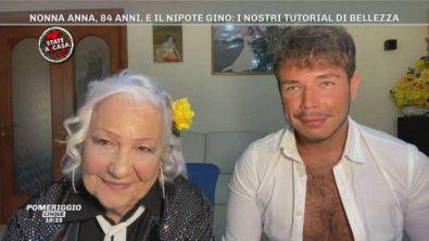 Nonna Anna, 84 anni, e il nipote Gino: i nostri tutorial di bellezza