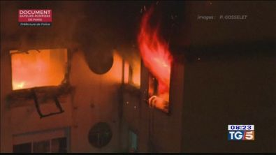 Incendio a Parigi: salito a 10 il bilancio delle vittime