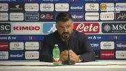 """Gattuso: """"Grazie ragazzi, mi avete ascoltato"""""""
