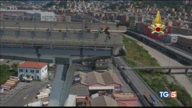 Si indaga sulle cause del crollo del Ponte Morandi