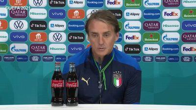 """Europei, Mancini: """"Abbiamo gli ultimi 90' per divertirci"""""""