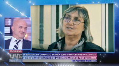 La Toscana ha comprato 547mila euro di mascherine dalla Pivetti