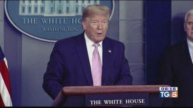 """Trump: """"Ci aspettano decisioni difficili"""""""