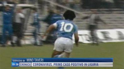 Messi nel tempio di Maradona