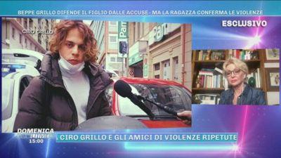 Beppe Grillo difende il figlio dalle accuse - Ma la ragazza conferma le violenze