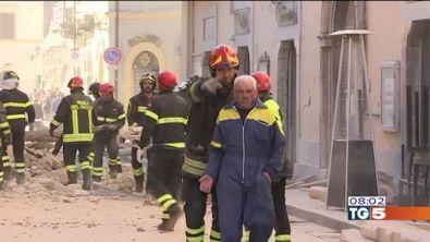 Centro Italia devastato