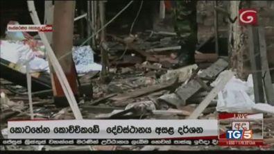 Bombe in chiese e hotel su turisti e cristiani