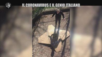 Coronavirus, l'inventore del distanziatore di un metro