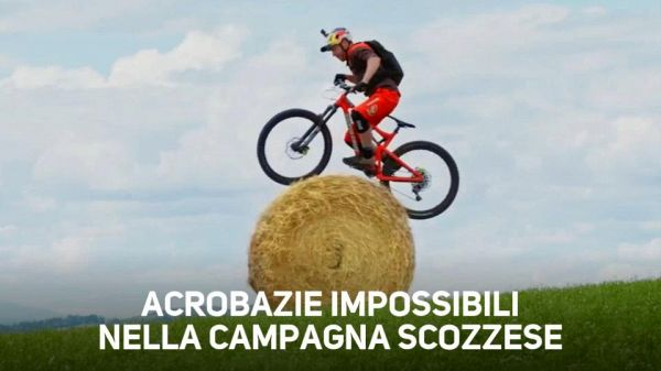 Pazzesco: acrobazie in mountain bike mai viste prima