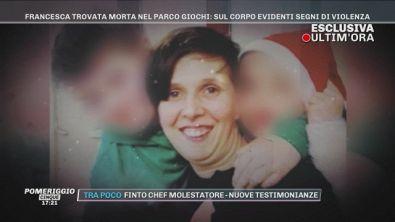 Bedizzole: Francesca, 39 anni, trovata morta nel parco giochi