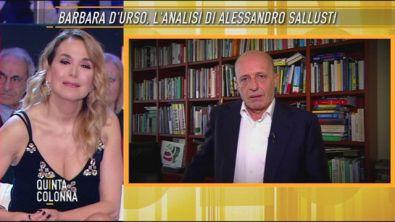 Barbara D'Urso: l'analisi di Alessandro Sallusti