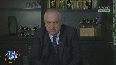 """Lazio, Lotito: """"Scudetto? No ai voli pindarici"""""""