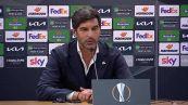 """Roma-Ajax, Fonseca: """"Vogliamo la finale"""""""