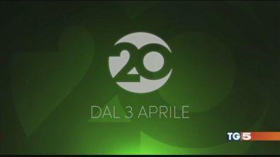Stasera Mediaset accende Canale 20