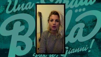Il videomessaggio di Emma
