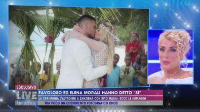 """Favoloso ed Elena Morali hanno detto """"sì"""""""