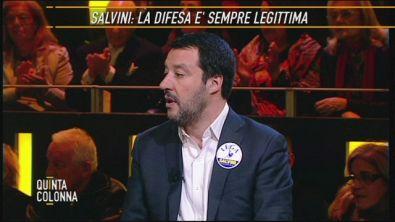 Matteo Salvini: la sicurezza