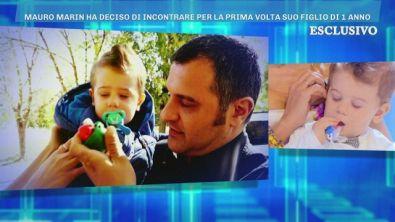 L'incontro tra Mauro Marin ed il piccolo Brando