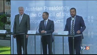Italia, Austria, Germania, fermeremo gli sbarchi