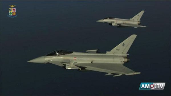 Paura in Lombardia, Eurofighter intercettano Boeing AirFrance