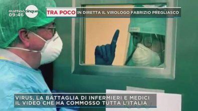 Covid-19: La battaglia di medici ed infermieri