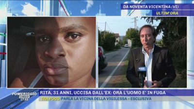 Rita, 31 anni, uccisa dall'ex. Ora l'uomo è in fuga