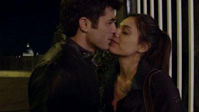 Chiara e Jacopo, ops, un bacio…