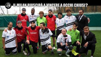CORTI E ONNIS: Milan e non vedenti: com'è guardare una partita senza vederla?