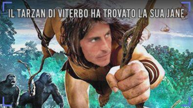 Il Tarzan di Viterbo ha trovato la sua Jane