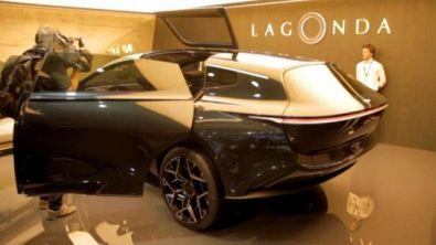 Lagonda EV, subbuglio di stile
