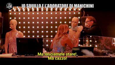 CORTI ONNIS: Lo scherzo a Jo Squillo: chi ha spogliato i manichini Valentina e Michelle?