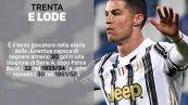 Addio ai record: i tre anni di CR7 alla Juventus