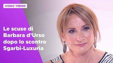 Scontro Sgarbi-Luxuria, le scuse di Barbara d'Urso