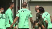 Ronaldo contrariato in allenamento, con chi ce l'ha?