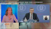 Mario Draghi sulla legge di bilancio