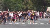 Derby, tornano i tifosi all'Olimpico per Lazio - Roma