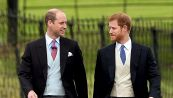 Harry e William vicini dopo lite per Meghan, i dubbi di Kate